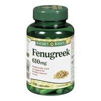 Nature's Bounty Fenugreek, 610 mg, 100 Capsules