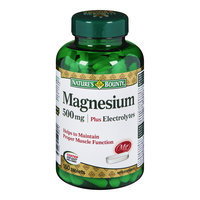 Nature's Bounty Magnesium Coated Tablets