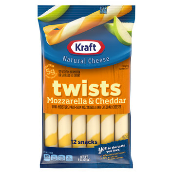 Kraft Mozzarella & Cheddar Twists