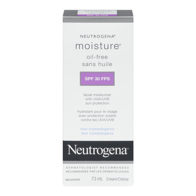 Neutrogena® Oil-Free Ultra-gentle Sensitive Skin Moisturizer SPF 30