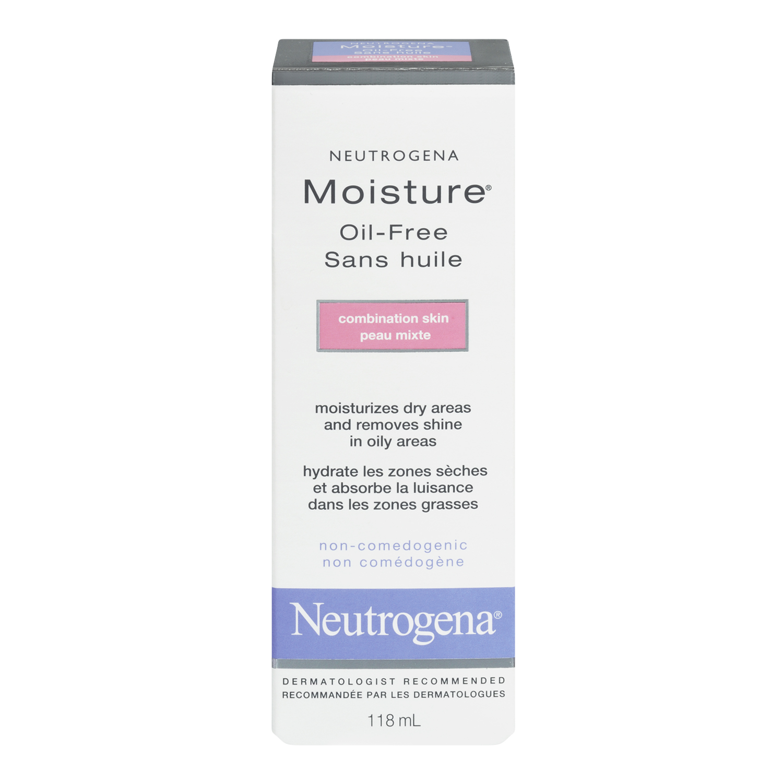 Neutrogena Moisture Oil-Free, For Combination Skin, 118 mL