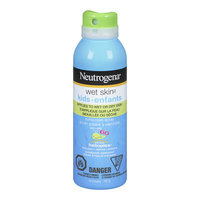 Neutrogena® Wet Skin Kids Sunscreen Spray SPF 60