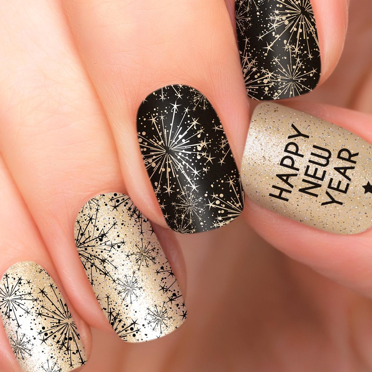 Incoco.com Incoco Nail Polish Strips, New Year Cheer