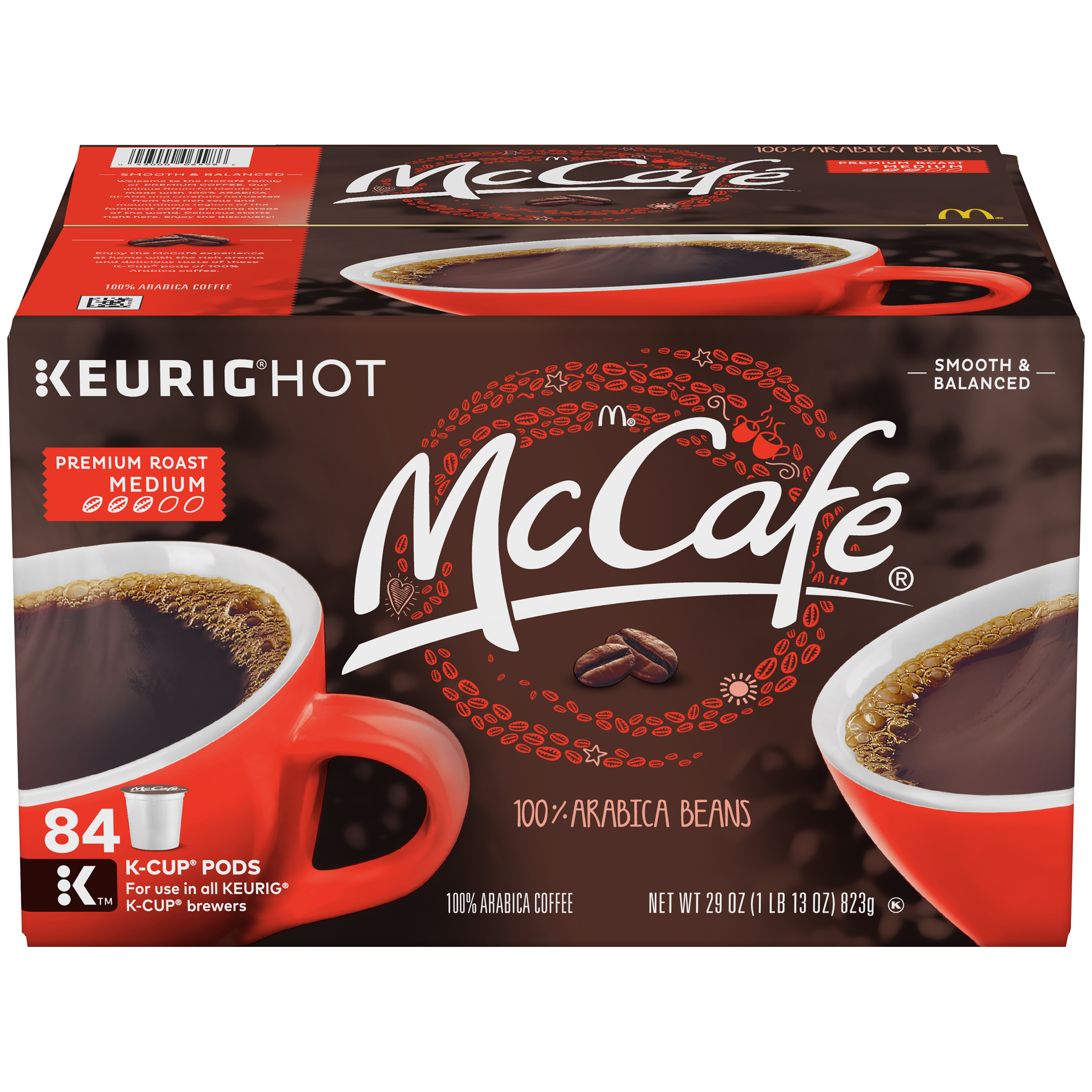 MCCAFE Premium Roast Coffee, K-CUP PODS