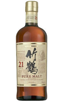 Nikkia Whisky Pure Malt Taketsuru 21 Year Old