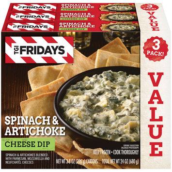 TGIF Spinach & Artichoke Cheese Dip
