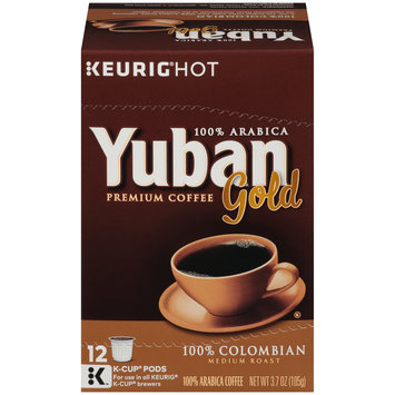 Yuban Gold 100% Colombian Coffee K-Cup Pods