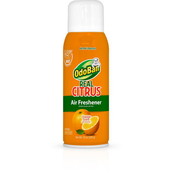 OdoBan Fresheners Real Citrus 10 oz. Air Freshener, Grease and Adhesive Remover Spray 9793D70-10A