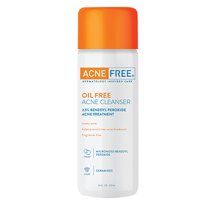 Acne Free Oil Free Acne Cleanser