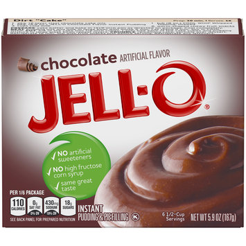 Jell-O Chocolate Instant Pudding & Pie Filling