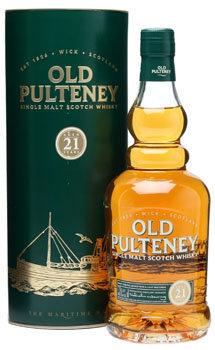 Old Pulteney Scotch Single Malt 21 Year