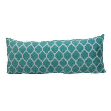your zone trellis pillow, teal