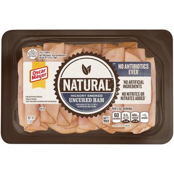 Oscar Mayer Natural No Antibiotics Ever Hickory Smoked Uncured Ham