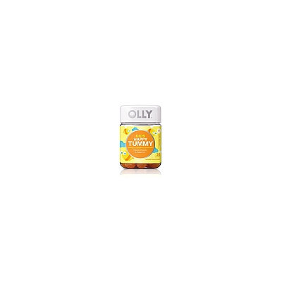 Olly Kids Happy Tummy Just Peachy Digestive Probiotic Gummies - 30 Count