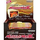MuscleMaxx Protein Bar Peanut Butter White Chocolate Heaven - 12 Bars