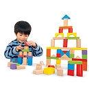 Imaginarium Wooden Block Set - 75-Piece