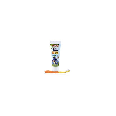 Nuby Toddler Training Toothpaste with Citroganix, 40 mL and Toothbrush