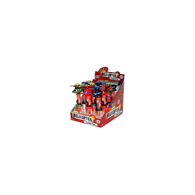 Lite Up Helicopter Candy Pop Fan: 12 Count