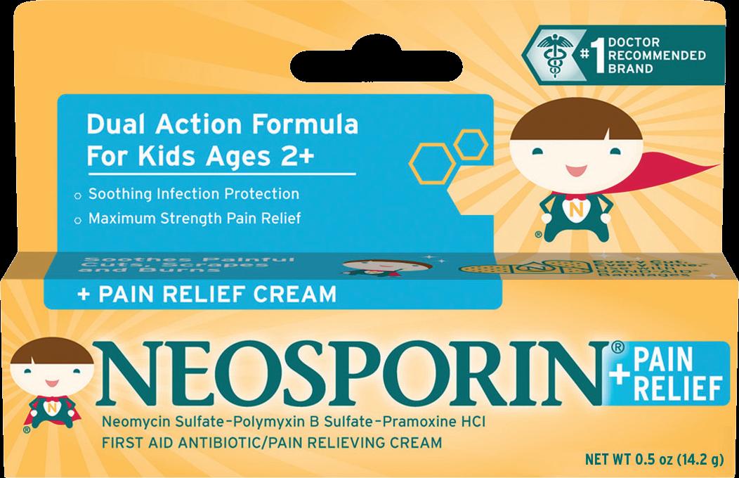 NEOSPORIN® + Pain Relief Cream for Kids