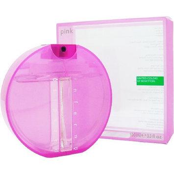 Benetton Paradiso Inferno Pink Perfume 3.3 Oz Edt For Women - PARIP34SW