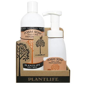 Plantlife Patchouli Natural Hand & Body Foam Soap - Value Set