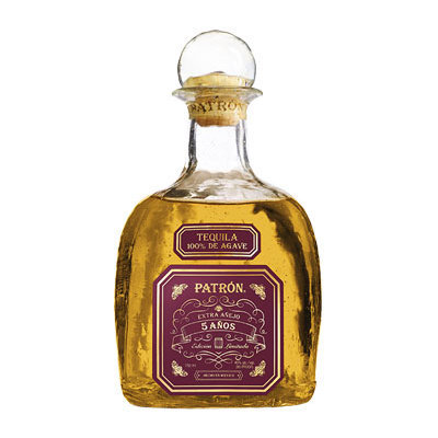 Patrón Tequila Extra Anejo 5 Anos