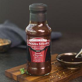 Omaha Steaks 2 (10 oz. jars) Sweet Chipotle BBQ Sauce
