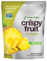 Crispy Green Crispy Fruit 100% Freeze Dried Pineapple