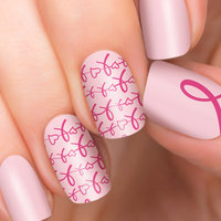Incoco.com Incoco Nail Polish Strips, Pink Ribbon