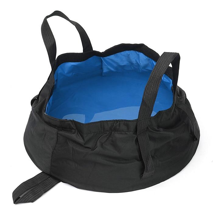 Etcbuys Travel Tourist 8.5 L Portable Folding Water Basin Footbath Washbasin Outdoor CampingTravel Tools