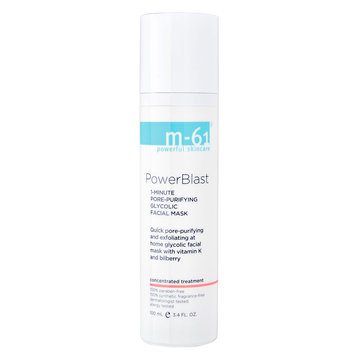 m-61 by Bluemercury PowerBlast - 1 Minute Pore-Purifying Glycolic Facial Mask, 3.4 oz