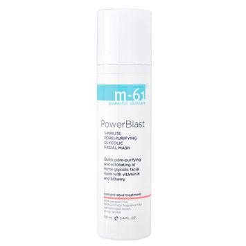 m-61 by Bluemercury PowerBlast - 1 Minute Pore-Purifying Glycolic Facial Mask, 3.4 oz