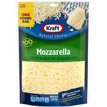 Kraft Mozzarella Shredded Natural Cheese