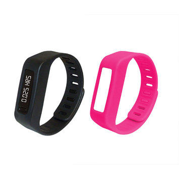 Supersonic DUPLICATE LifeForce+ Fitness Watch for iPhone(R) & Android(TM) (Pink)