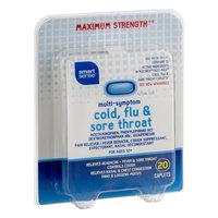 Mygofer Smart Sense Multi-Symptom Cold, Flu & Sore Throat Maximum Strength Caplets - 20 CT