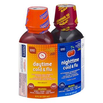 Mygofer Smart Sense Daytime Cold & Flue/Nighttime Cold & Flu Cherry Flavor 12.0 FL OZ