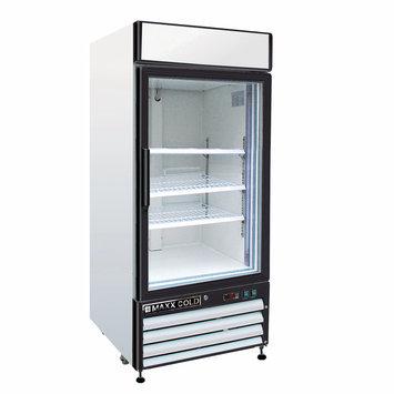 Maxx Cold 16-cu ft Commercial Freezerless Refrigerator (White) MXM1-16R