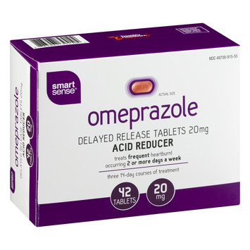 Mygofer Smart Sense Omeprazole Delayed Release Tablets 20mg Acid Reducer - 42 CT