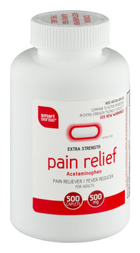 Mygofer Smart Sense Extra Strength Pain Relief For Adults Caplets - 500 CT