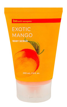 Upper Canada Soap be bath escapes Exotic Mango Body Scrub 8.1 fl oz.