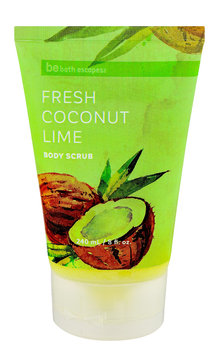 Upper Canada Soap be bath escapes Fresh Coconut Lime Body Scrub 8.1 fl oz.