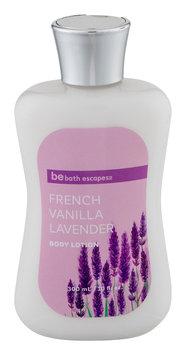 Upper Canada Soap be bath escapes French Vanilla Lavender Body Lotion 10 fl oz.