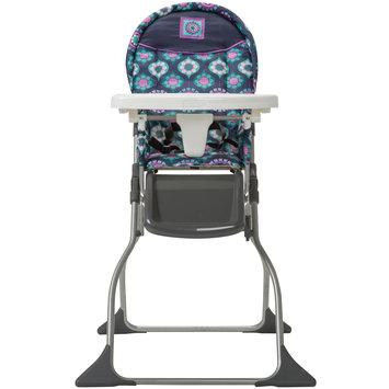 Dorel Juvenile Cosco Girls' Simple Fold Highchair - Midnight Garden, Blue