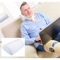 Sloppy Tight Entertainment Compact Memory Foam Neck and Lower Lumbar Support Pillow
