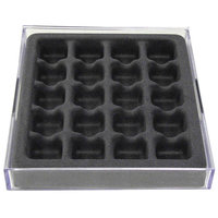 Axis International Marketing Stack Em Jewelry Organizer For Rings And Earrings, 20 Compartments, Set of 2