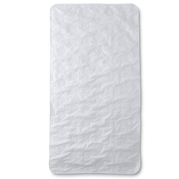 Triboro Quilt Mfg. Corp. Cuddletime Infants' Full-Length Crib Mattress Pad - Sheep