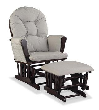 Majestique Nursery Glider Chair & Ottoman