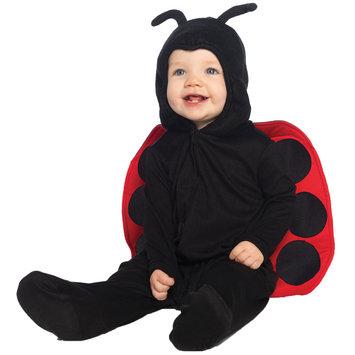 Leg Avenue Baby Ladybug Ultra Soft Hooded Bodysuit