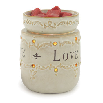 Candle Warmers Etc. Illumination Candle Warmer, Live, Love, Laugh