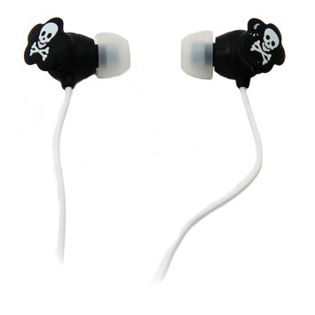 Quantum Fx QFX Lightweight Stereo Earbuds-White